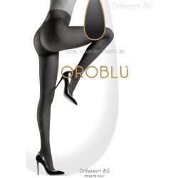 Sort Oroblu Different 80 Comfort Tights