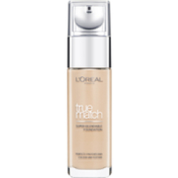 L'Oréal Paris True Match Liquid Foundation with SPF and Hyaluronic Acid 30ml (Various Shades) Beige