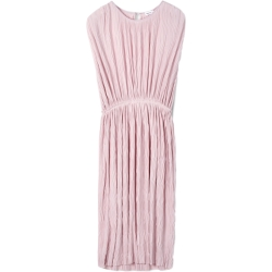 Lys Rosa Filippa K Wave Plisse Dress Kjoler