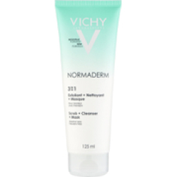 VICHY Normaderm 3 in 1 Cleansing Scrub Mask 125ml