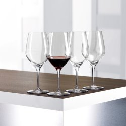 Authentis Bordeauxglass 65cl 4 stk. klar