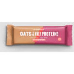 Oats Whey Protein Bar Real Raspberry