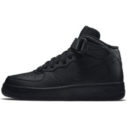 Nike Air Force 1 Mid 06 sko for store barn Black