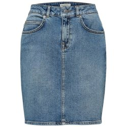 Medium Blue Denim Slfkenna Skjørt