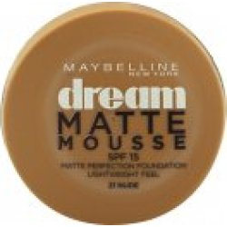 Maybelline Dream Matte Mousse Foundation 18ml 021 Nude